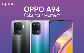New Mid-range Oppo A94 Unveiled; Features OLED Screen, 30W Fast Charging, and a Lightweight Design