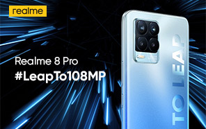 Realme 8 Pro Featured on the FCC; To Launch Soon with a 4500 mAh Battery and 65W Dart Charging
