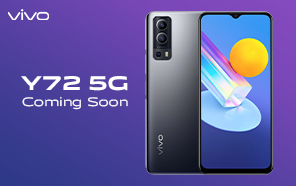 Vivo Y72 5G Global Rollout Continues; 5G Dimensity Chip, Triple-Camera, and 5000 mAh Battery