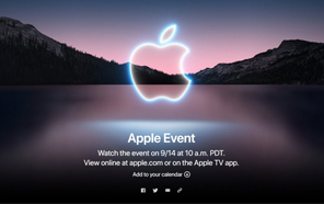 iPhone 13 Series is Debuting on September 14, Official Invites for the Event Are Out