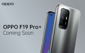 OPPO F19 Pro Plus Unveiled with MediaTek Dimensity 800U, 50W Flash Charging, and a Super AMOLED Screen