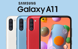 Samsung Galaxy A11 gets Unveiled with a Punch-hole & Triple Camera; Expected to Arrive soon in Pakistan