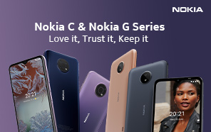 Nokia G10, G20 Unveiled along with Nokia C10 and C20; Value Features on a Budget