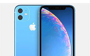 iPhone XR 2019 leaks for the first time, have a similar camera bump to an iphone XI