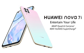 Huawei Nova 7i is Coming to Pakistan on May 21; Features Kirin 810 Chipset, 6.4 inch FHD+ display, and a 4,200 mAh battery