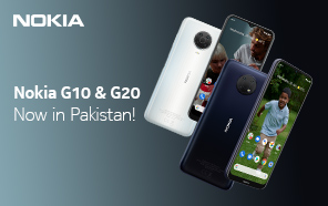 Nokia G10 and G20 Officially Launched in Pakistan; Three-Day Battery Life and Helio Chipsets