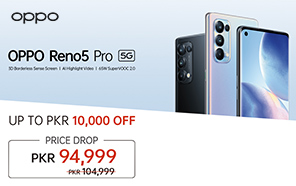 OPPO Reno 5 Pro Price in Pakistan Slashed by PKR 10,000; Now Available at a new price of Rs. 94,999