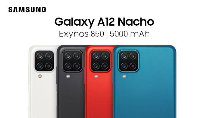Budget-friendly Samsung Galaxy A12 Nacho Makes its Debut with Exynos 850  Chipset - WhatMobile news