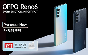 OPPO Reno 6 Series Launched in Pakistan; Opens Pre-orders for Reno 6, The Pro Comes Next Month