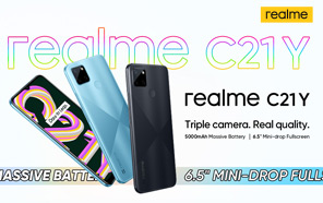 Realme C21Y is Coming to Pakistan Soon; 5000 mAh Battery and AI Triple Camera