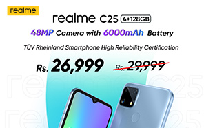 Realme C25 price in Pakistan slashed by Rs 3,000, now available at a new price of Rs 26,999