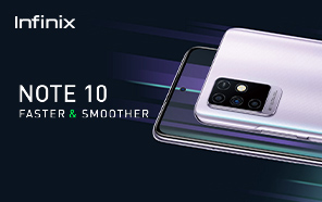 Infinix Note 10 Launched in Pakistan; High-performance Chip, Fast-Charging, and 1080P Display