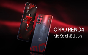 Oppo Reno4 Mo Salah Edition Released; the Reno4 Gets a Stunning New Paint job