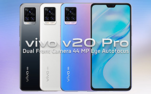 Vivo V20 Pro Might be Headed to Pakistan Soon; Wide-angle Selfies with Eye-tracking AF