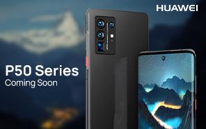 Huawei P50 Series Leaked in Product Renders; Screen Designs and Liquid Lens Camera