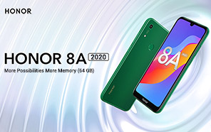 Honor 8A 2020 Goes for Pre-order in the U.K., Simply a Rebranded Honor 8A Pro