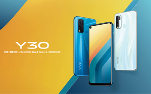 Vivo Y30 Officially Announced to Land in Pakistan Soon; Mid-range Pick on a Budget