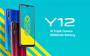 Vivo teases the imminent launch of Vivo Y12, expected to launch tomorrow, 12th September