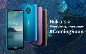 Nokia 3.4 is Coming to Pakistan Soon; Punch-hole display, Triple Camera, and Powerful Chipset for a Modest Price