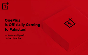 OnePlus is Launching Officially in Pakistan on April 19, in Partnership with United Mobile