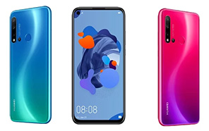 Huawei Nova 5i smartphone with four cameras will get unveiled on the 21st of june along with Nova 5