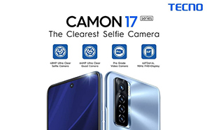 Tecno Camon 17 Pro and Camon 17 Now Available in Pakistan; Here are the Pricing And Features
