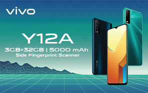 Vivo Y12A Replaces the Y12s in Pakistan; Now Available with Snapdragon 439, Android 11, & All-day Battery life