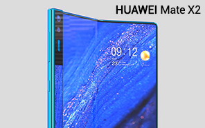 Huawei Mate X2 Featured in Detailed Renders; Bigger in-folding Display, a Stylus, & a Polished Build