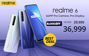 Realme 6 Gets a Price Slash in Pakistan; Get up to Rs. 3,000 Off Now