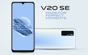 Vivo V20 SE is Coming this Month With a Gorgeous Redesign and Big Camera Upgrades