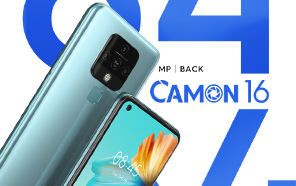 Tecno Camon 16 Coming to Pakistan by the End of October; Excellent Value for Money