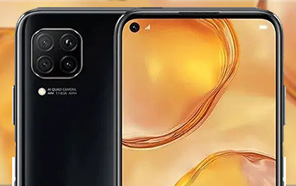 Leaked Huawei P40 Lite with a punch hole display looks to be just a rebranded nova 6 SE