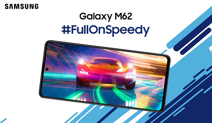 Samsung Galaxy M62 to be Announced Soon with a Flagship Chip & 7000mAh Battery; Same as Galaxy F62 - WhatMobile news