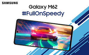 Samsung Galaxy M62 to be Announced Soon with a Flagship Chip & 7000mAh Battery; Same as Galaxy F62
