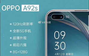 Oppo A92s Makes an Appearance in Leaked Promo Posters; Meet the Next Unannounced Oppo Sub-Flagship