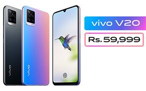 Vivo V20 Launches in Pakistan with 44MP Eye Autofocus Selfie Camera; Vivo V20 SE will Follow Soon