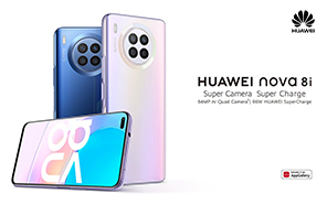 Huawei Nova 8i Global Rollout Continues, Launches in New Markets with an Edgeless Screen & 66W Charging