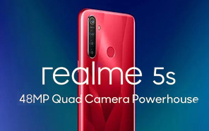 Realme 5s debuting on November 20, Renderings Reveal a 48MP Quad-camera Setup