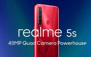 Realme 5s debuting on November 20, Renderings Reveal a 48MP Quad-camera Setup