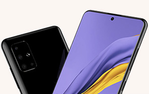 First Set of Samsung Galaxy A51 Renders Surface online, features punch-hole display & Solid Quad Cameras