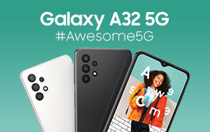 Samsung Galaxy A32 5G Announced: Unique Design and 5G Are the Highlights