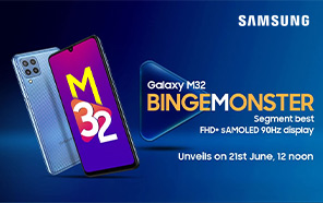 Samsung Galaxy M32 to be announced next week; Features and release date officially shared