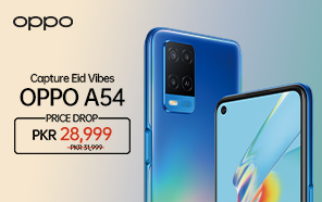 OPPO A54 Price in Pakistan Dropped by Rs. 3000 as an Eid Offer; Now Available For Rs. 28,999