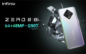 Infinix Zero 8 is a Photography-first Value Phone With the World's First 48MP Dual Selfie Camera