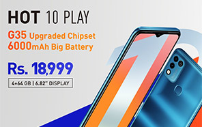 Infinix Hot 10 Play 4GB/64GB Edition Launches in Pakistan with Competitive Pricing and Specs