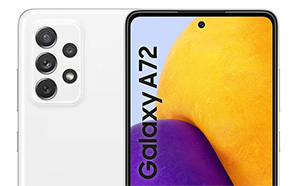 Samsung Galaxy A72 4G Leaks in Full with 90Hz S.Amoled Display; Official Renders and Specs Outed