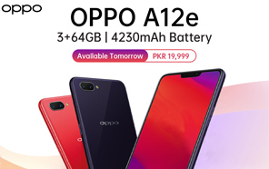 Oppo A12e Goes on Sale in Pakistan, Simply a Rebranded Oppo A3s With a Discount