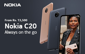 Nokia C20 is now available in Pakistan; Entry-level handset with basic specs and 2-years of updates