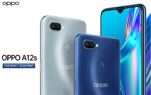 Oppo A12s Goes Official With a Redesigned Body, Helio P35, Dual Cameras, and a 4230mAh Battery