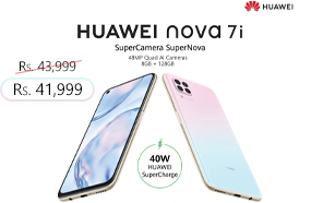 Huawei's Nova 7i Gets a Rs. 2,000 Price Cut in Pakistan; Now Retailing at Rs. 41,999
